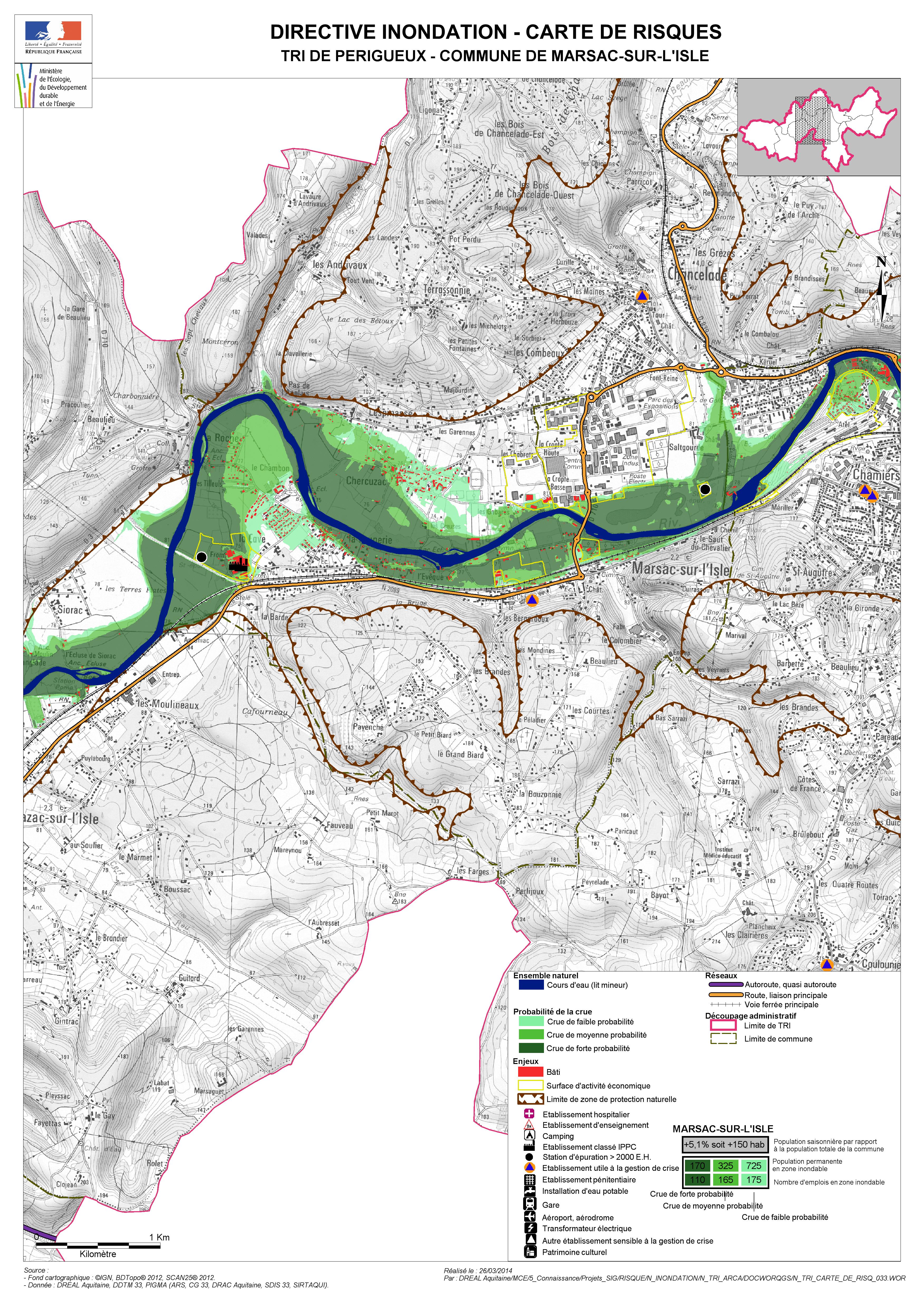 cartographie des territoires risques importants d 39 inondation tri territoires risques. Black Bedroom Furniture Sets. Home Design Ideas